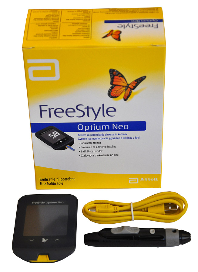Glukometr FreeStyle Optium Neo AKCE