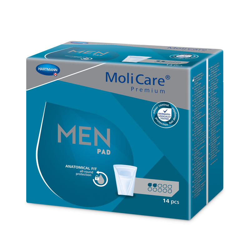 Vložky Molicare Men 2 kapky,MoliMed for men Active